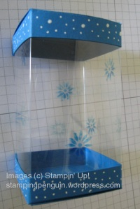Christmas Acetate Box