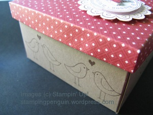 Hugs & Kisses box (side)