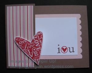 Folded Happy Heart
