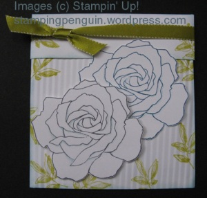 Crimped Envelope with Floral