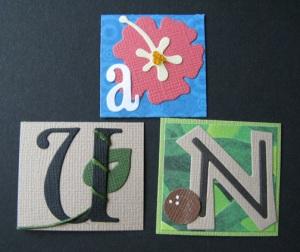 A, U, and N in Adventureland