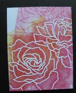 Brayered Roses, take 1