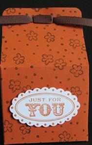 Flower Treat bag