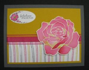 Reinker Rose card