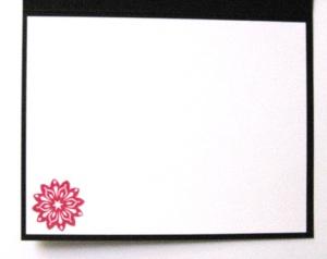 Ornament Card, open