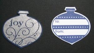 Ornament Tag, Version 2
