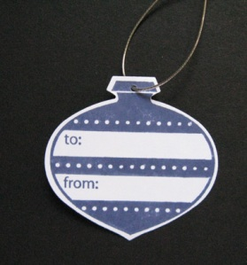 Ornament Tag with Cording