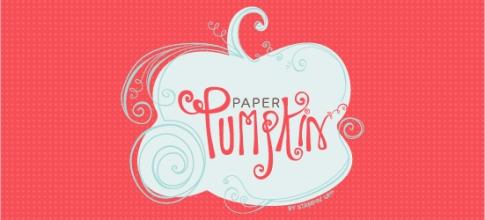 My Paper Pumpkin banner