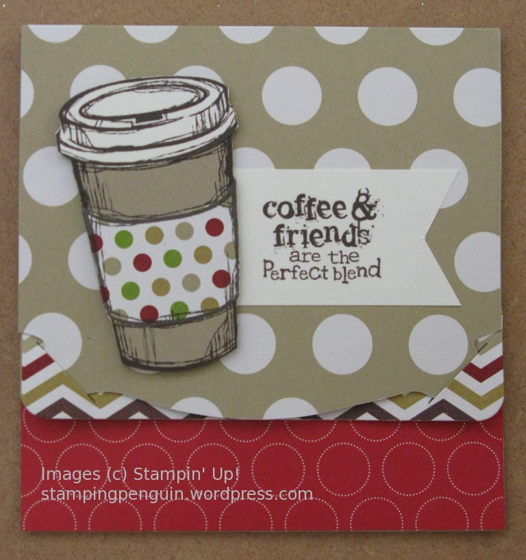 happy birthday coffee friend  lorene's stamping blog, Birthday card
