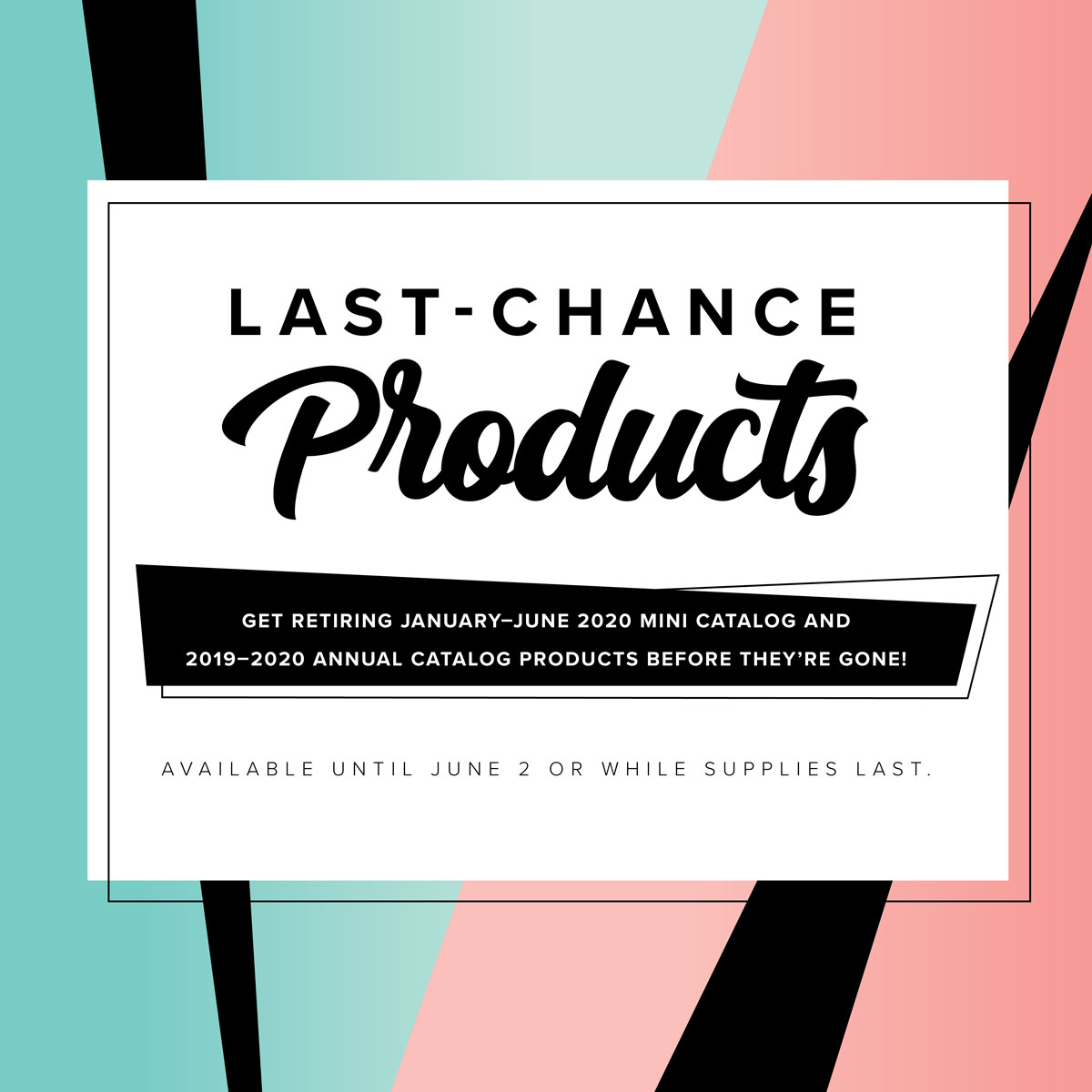 Last Chance banner